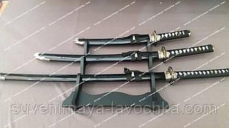 Сувенірний меч Катана Самурайський 3 в 1 ( Katana 3в1 )