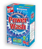 Стиральный порошок Power Wash Vollwaschmittel professional универсальный 9 кг