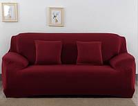 """Чехол на трехместный диван, бифлекс  """"HomyTex"""" Китай. Цвет в ассортименте"""