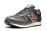 Кроссовки мужские New Balance C-CAP зимние , на меху, серые, р. 42 43 44 45