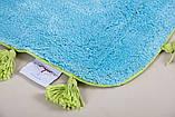 Коврик в ванную 60х90 Joy голубой Irya, фото 2