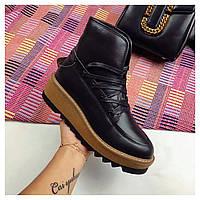 Зимние белые и черные женские ботинки люкс реплика UGG. обувь под заказ