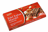 Шоколад с мигдалем Karina Edel Rahm Mandel 200г