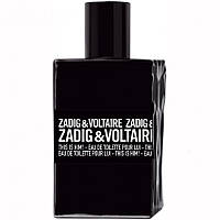 Zadig & Voltaire This is Him туалетная вода 100 ml. (Тестер Задиг и Вольтер Зис ис Хим)