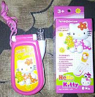 """Детский телефон M 0265 I U/R-1 """"Hello Kitty"""", мобильный, в коробке"""