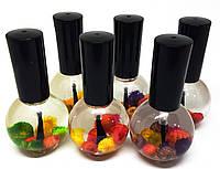Масло для кутикулы и ногтей с цветами Flower Oil