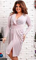 Вечернее платье с люрексом с 48 по 56 размер 3 цвета