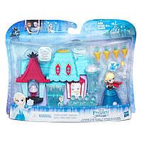 Уценка! Набор Дисней маленькая кукла Холодное сердце Эльза и магазин сладостей. Оригинал Hasbro B5195_B5194