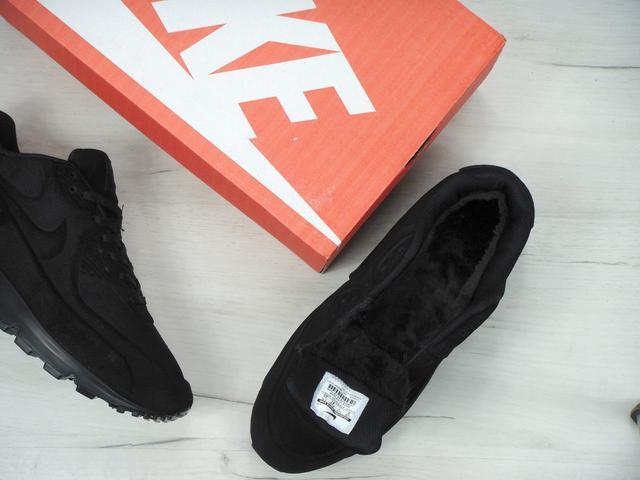 b4f9318b Предоставлены только реальные фотографии кроссовок Nike Air Max 90 VT Tweed  All Black (C мехом):