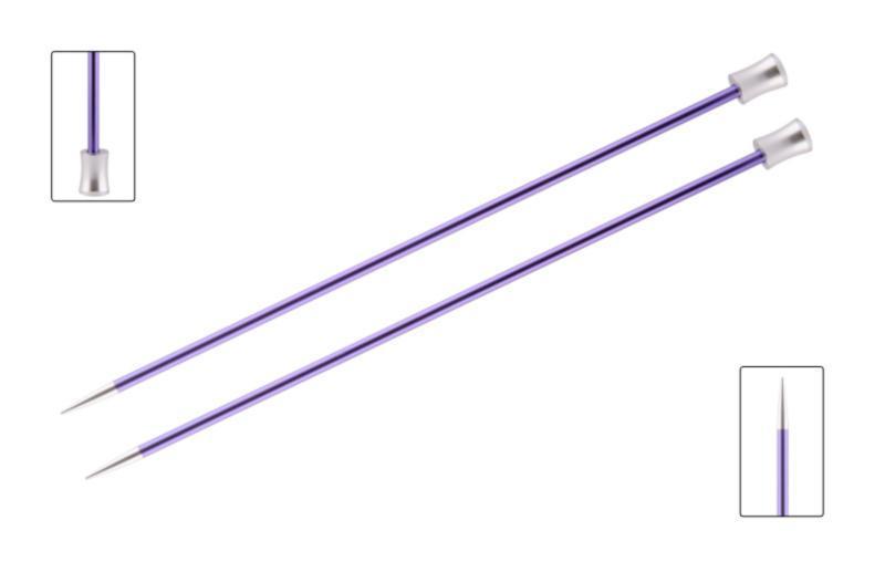 Спицы прямые 30 см Zing KnitPro 8,00 мм