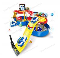 """Игровой набор паркинг-чемодан """"Robot Trains"""""""