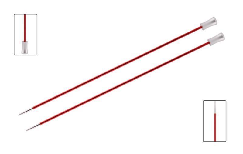 Спицы прямые 30 см Zing KnitPro 9,00 мм