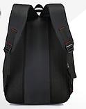 Рюкзак спортивный черный DerenSport, фото 3