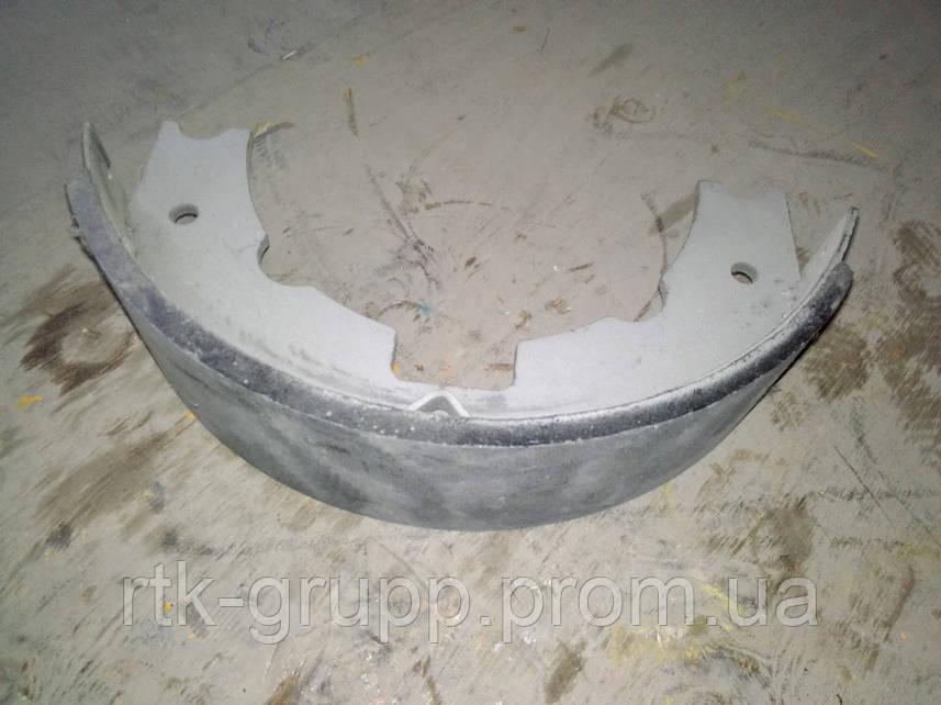 Колодка ручного тормоза YCX.2.1 / YCX.4.1