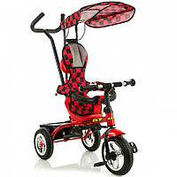 Трёхколёсный велосипед X-Rider GT Mini Trike с надувными колесами Красный