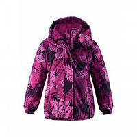 Зимняя куртка для девочек Lassie by Reima 721714 - 4802. Размер 104 - 128.
