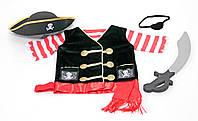 """Детский карнавальный костюм """"Пират"""" для мальчиков 3-6 лет / Pirate Role Play Costume Set ТМ Melissa & Doug MD14848"""