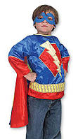 """Детский карнавальный костюм """"Супергерой"""" для мальчиков 3-6 лет / Super Hero - Boy Role Play ТМ Melissa & Doug MD14788"""