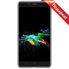Смартфон 5.5'' Samgle X5, 1Gb+8Gb Черный 4 ядра MTK6580a Android 6.0 HD IPS 2.5D 3000mAh камеры 2+5 Мп