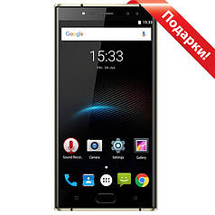 "☑Смартфон 5.5"" Oukitel K3, 4/64GB Black экран 2.5D от Sharp 8 ядер камера 13 Мп 6000 mAh Android 7"