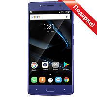 "☛Смартфон 5.5"" DOOGEE BL7000, 4GB+64GB Sapphire blue камера Samsung 13 Мп отпечаток пальца стекло 2.5D 7060mAh"