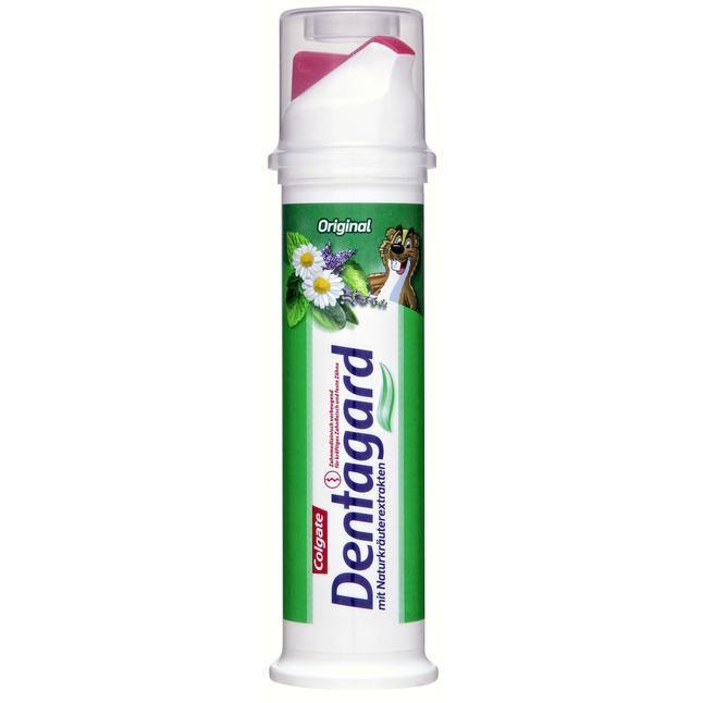 Зубная паста Colgate Dentagard экстракт трав
