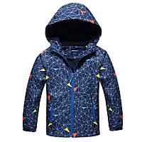 Куртка на флисе для мальчика 5-11 лет, размеры 110-152 ТМ Hutuhu kids