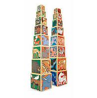 """Набор деревянных блоков-кубов """"Животные"""" для детей с 2 лет / Wooden Animal Nesting Blocks ТМ Melissa & Doug MD14207"""