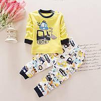 Пижама для мальчика 1,5-2 лет р. 90 (хлопок 100%) ТМ TIANGUAXIA TGX6741
