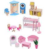 Кукольный домик для барби+лифт +2куклы в подарок.Дом для кукол барби, фото 9