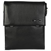 Деловая мужская сумка-планшетка через плечо черная High Touch HT005125-41