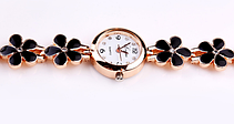 Стильные кварцевые женские часы, фото 3