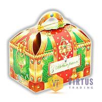 Новогодний сладкий подарок в картонной упаковке №1 60 г