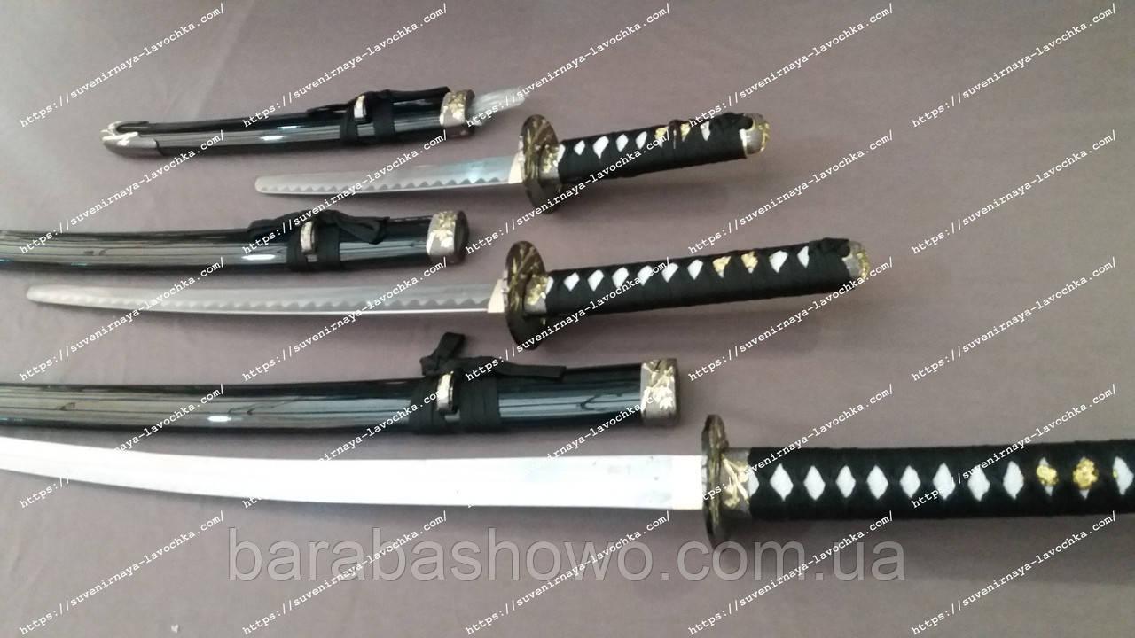 Сувенирный меч Катана Самурайский 3 в 1 ( Katana 3 в 1 )