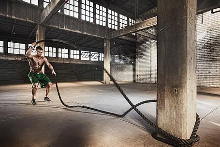 Канат для кроссфита Battle Rope длина 9 м, диаметр 3,8 см, фото 2