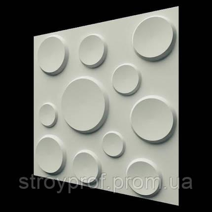 3D панели «Кратеры» Бетон, фото 2