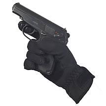 Перчатки Tactical Waterproof чёрные, фото 3