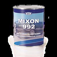 Антикоррозийный нитро грунт Mixon 992.  Коричневый  1,1кг.
