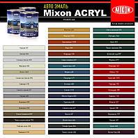 Акриловая автомобильная краска Mixon Acryl. Реклама 121. 1л