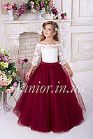 Нарядное пышное платье  для девочки 6-7лет