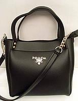 Женская черная сумка Prada, Прада