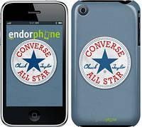 "Чехол на iPhone 3Gs Converse. All star ""3683c-34-8079"""