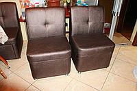 Кухоннные кресла на роликах (Бронзовый цвет)