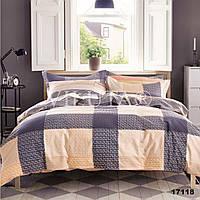 Комплект постельного белья ранфорс 17118