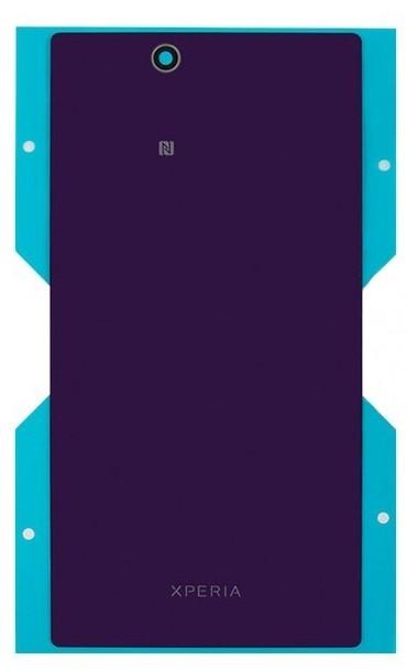 Задняя крышка Sony C6802/ C6806/ C6833 XL39h Xperia Z Ultra фиолетовая