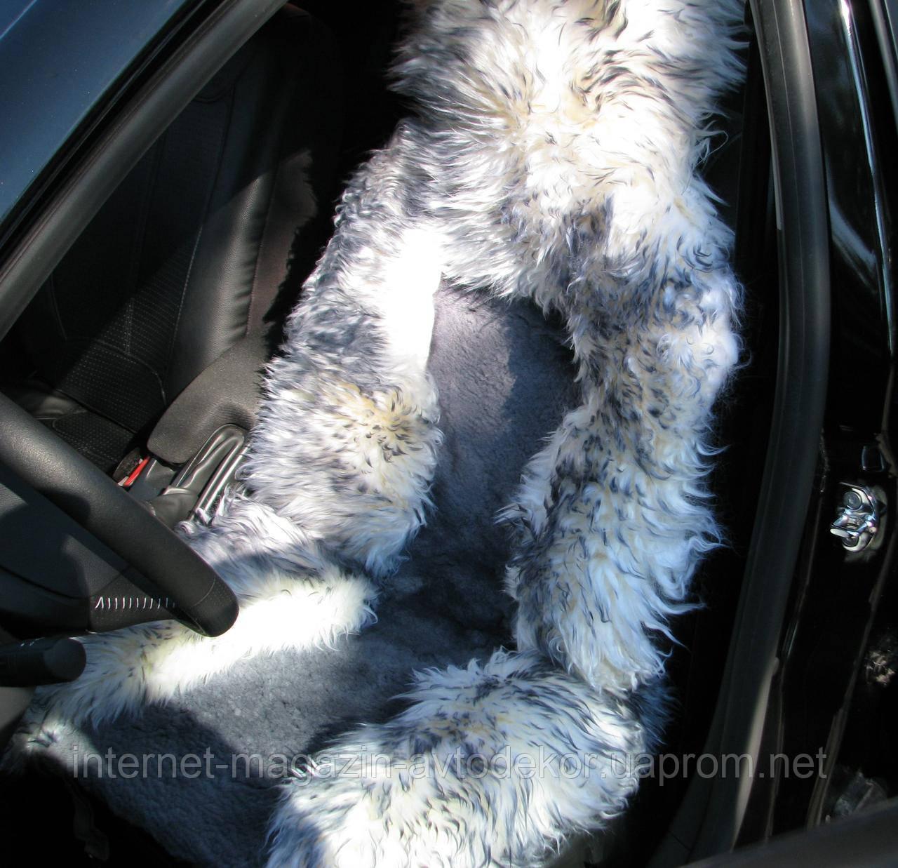 Меховые накидки на передние сиденья PSV, овчина.