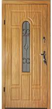 Двері вхідні броньовані з ковкою БЕЗКОШТОВНА ДОСТАВКА