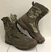 Ботинки берцы зимние нубук ARS-2 пиксель ВСУ