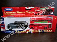 Игрушка Автобус металлический Лондон 43616-2, фото 1
