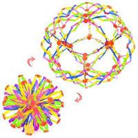 Мяч Y-557  трансформер, 15см, в кульке, 32-32-32см